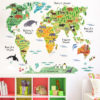 World Map (60 x 90 cm / 23.62 x 35.43 inch)